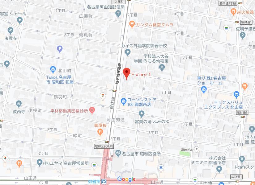本部道場地図
