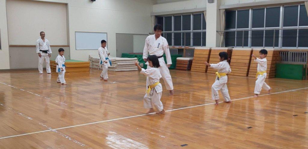 黄色帯型練習