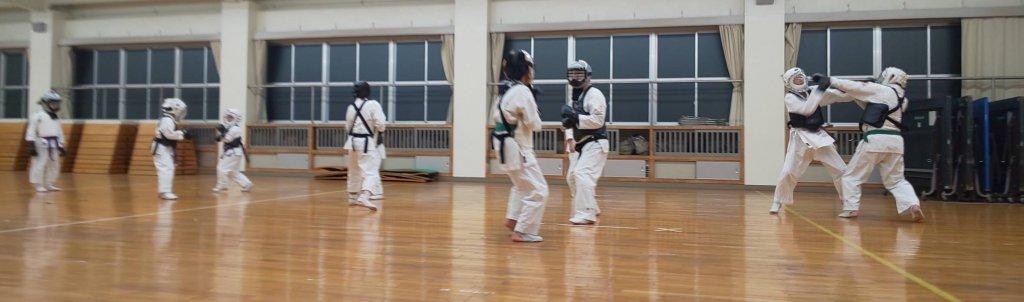 中級者以上の組手練習